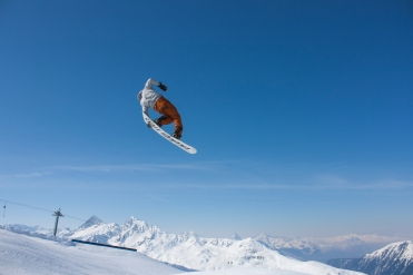saut snowbard